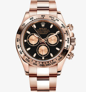 Replica Rolex Cosmograph Daytona Watch: 18 ct Everose gold – M116505-0002