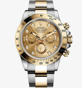 Replica Rolex Cosmograph Daytona Watch: Yellow Rolesor - combination of 904L steel and 18 ct yellow gold – M116523-0055