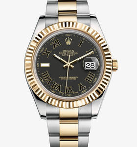Replica Rolex Datejust II Watch: Yellow Rolesor - combination of 904L steel and 18 ct yellow gold – M116333-0002