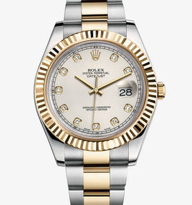 Replica Rolex Datejust II Watch: Yellow Rolesor - combination of 904L steel and 18 ct yellow gold – M116333-0008