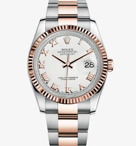 Replica Rolex Datejust Watch: Everose Rolesor - combination of 904L steel and 18 ct Everose gold – M116231-0092