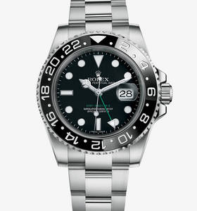 Replica Rolex GMT-Master II Watch: 904L steel – M116710LN-0001