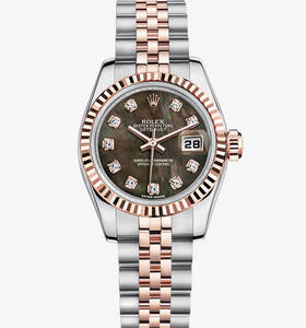 Replica Rolex Lady-Datejust Watch: Everose Rolesor - combination of 904L steel and 18 ct Everose gold – M179171-0019