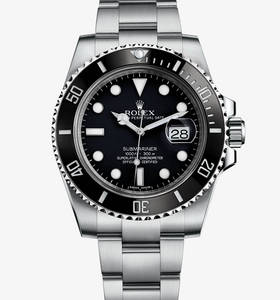 Replica Rolex Submariner Date Watch: 904L steel – M116610LN-0001